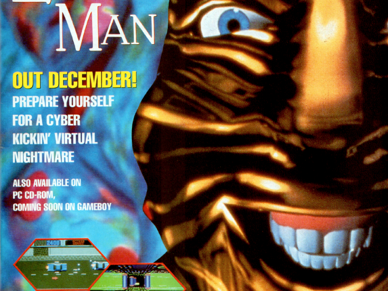Even as low as 90's game ads standards were, this still looks pretty awful.